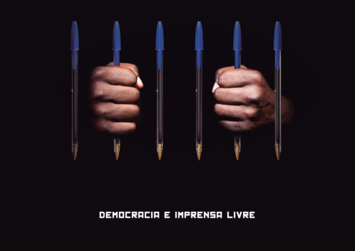 Campanha Teaser  |  Democracia e Imprensa Livre  |  Democracy and the Free Press
