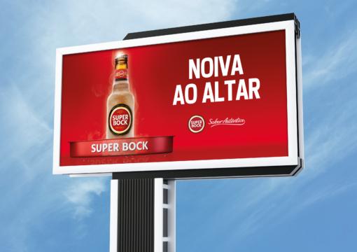 "Fase #1 Campanha Super Bock ""Noiva"" | Billboards"