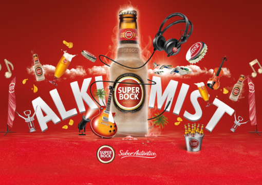 Billboard GF Super Bock | Alkimist